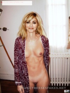 pop icon madonna nude pictures exposing big boobs & pussy fake 001