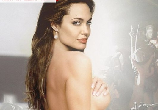 angelina jolie naked boobs ass and pussy show fake 002