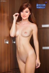 beautiful shailene woodley naked posing boobs & tits fake