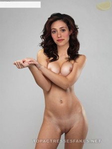 emmy rossum nude beautiful ass boobs and pussy show fake 002