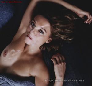lea seydoux nude fucking & cum facial posing tits pussy fake 001