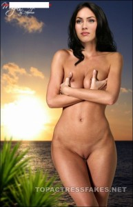 megan fox hot naked images showing boobs & pussy fake 001