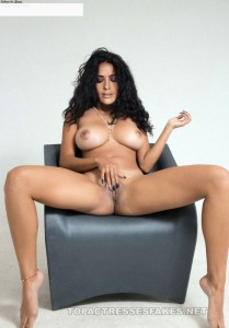 salma hayek naked pics posing beautiful ass boobs and pussy fake 001