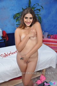 sonam kapoor naked feeling shy cover boobs & pussy with hands fake