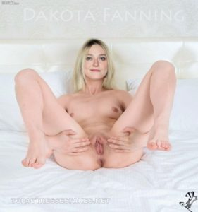 nude dakota fanning showing sexy pussy and boobs fake