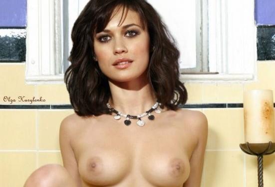 Olga Kurylenko Nude Pics Exposing Sexy Boobs And Pussy Fake