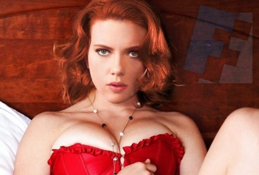 nude scarlett johansson showing boobs and pussy fake 001