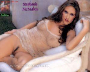 nude stephanie mcmahon fucking threesome boobs pussy show fake 001