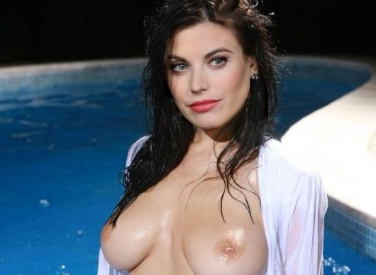 meghan ory naked posing sexy firm boobs
