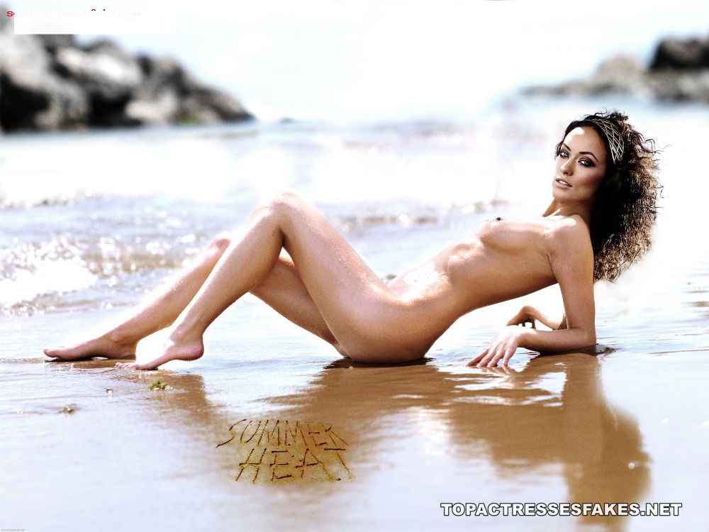 olivia wilde nude in beach