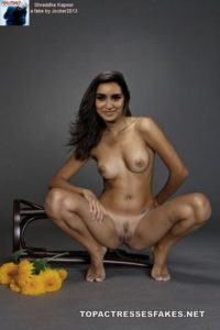 shraddha kapoor nude pic exposing tits and pussy