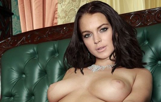 lindsay lohan nude showing pussy