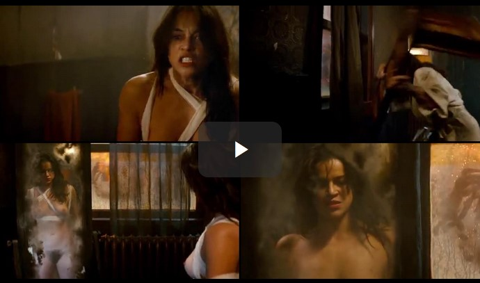 Michelle Rodriguez Naked Scene From Assignments