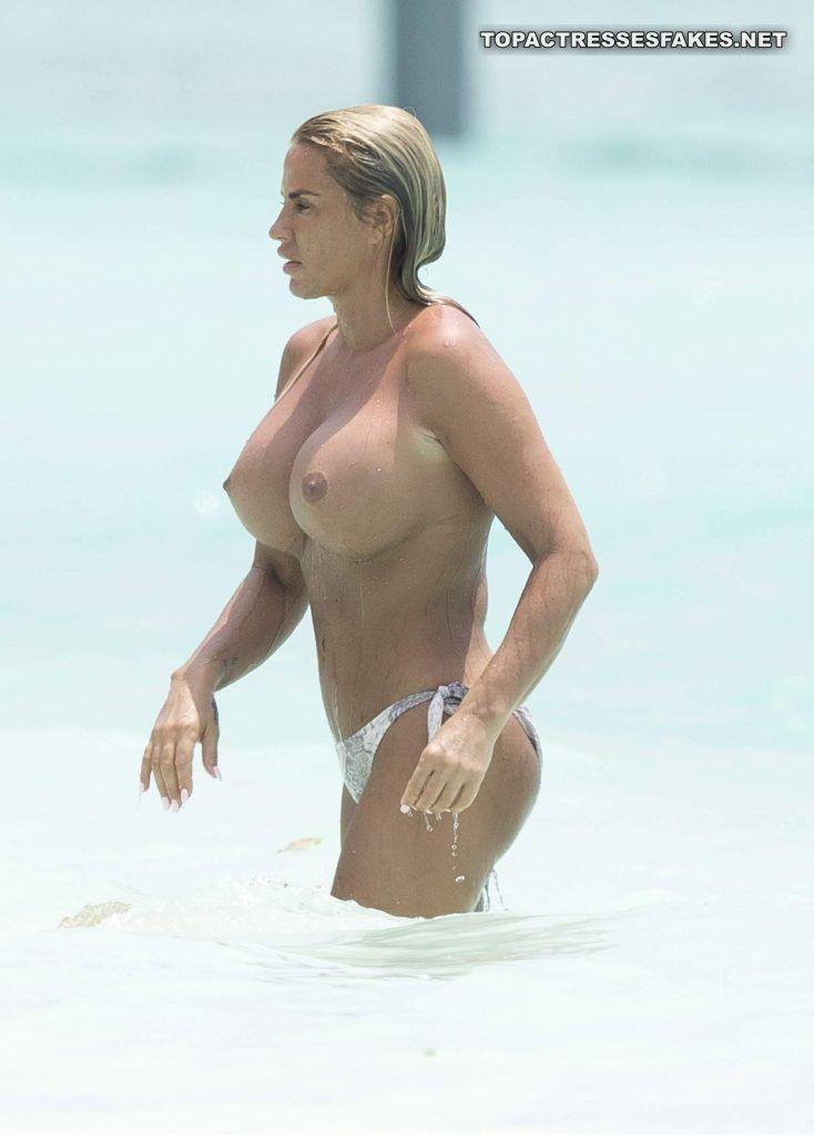 katie price topless boobs
