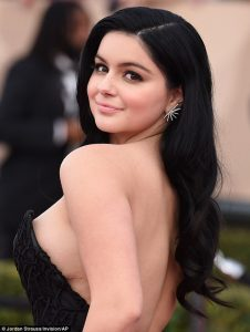 ariel winter s breast reduction scar could be seen