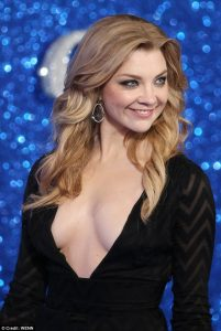 natalie dormer sexy cleavage show