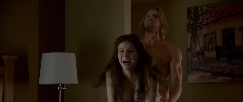 alexandra daddario sex scene in the layover 1