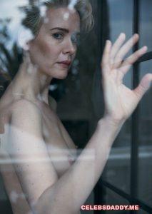 sarah paulson topless photoshoot 005