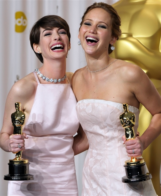 jennifer lawrence anne hathaway