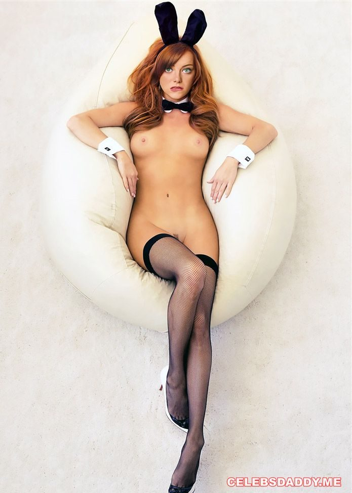 emma stone naked playboy photo shoot 001