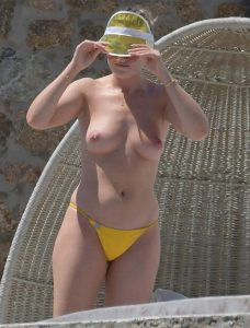 perrie edwards topless outdoor candids 003