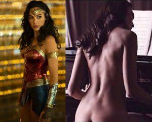 gal gadot nude superhero