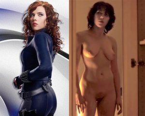 scarlett johansson nude superhero