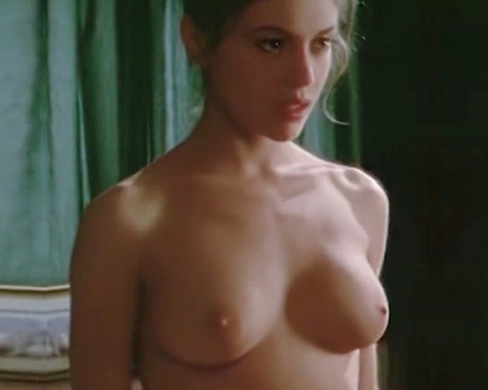 alyssa milano topless nude outer limits