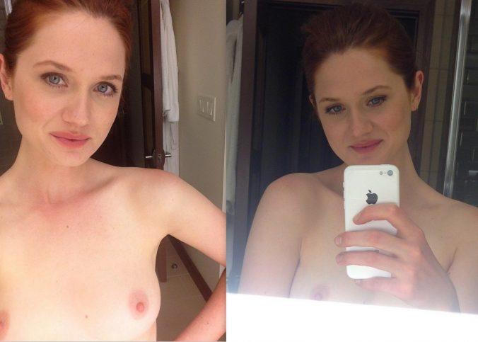 bonnie wright nude