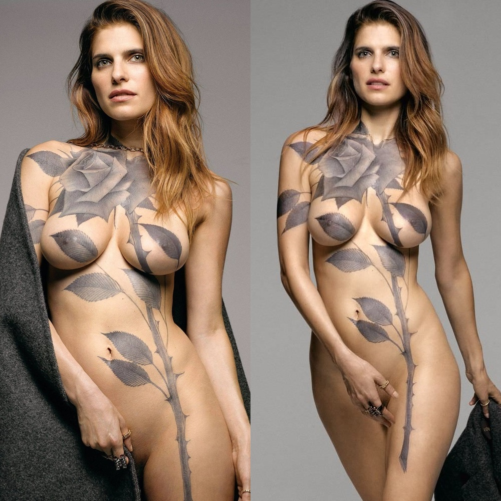 lake bell nude bodypaint